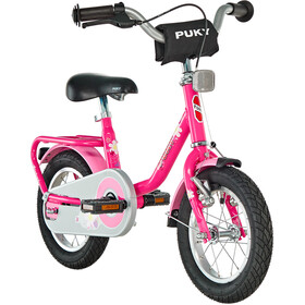 """Puky Z 2 Børnecykel 12"""" pink"""